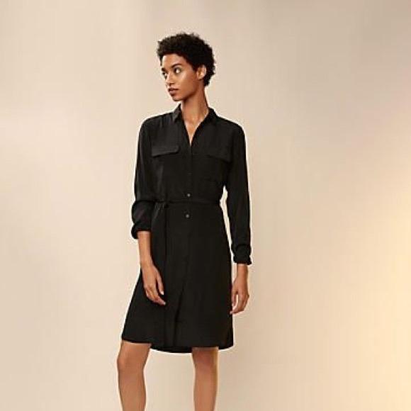 Express Dresses & Skirts - Express Black Shirt Dress